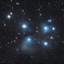 M45 Pleïades,                                S. DAVID
