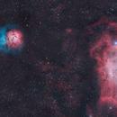 M8 and M20 nebulae.,                                Adriano