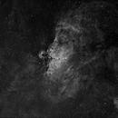 The eagle (M16) Nebula in HA,                                David Nguyen