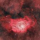 M8 Lagoon Nebula,                                Chad Andrist