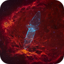 Sh2-129 & Ou4 - The Flying Bat and Giant Squid Nebula,                                Yannick Akar