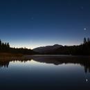 Comet C/2020 F3 NEOWISE over Hume Lake, California,                                Justin Hendrickson