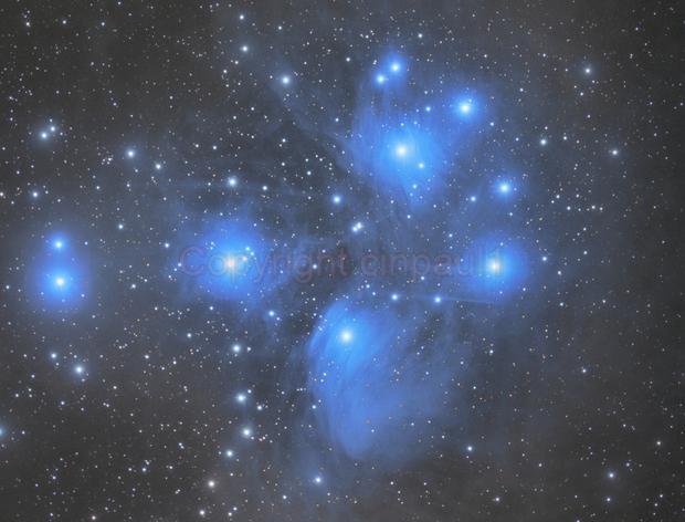 M45, Pleiades,                                Paul May