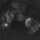 IC443 - The Jellyfish Nebula,                                Phil Wright