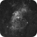 Bubble Nebula  NGC 7635  Ha,                                sky-watcher (johny)