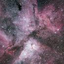 Great Carina nebula,                                jackstar