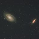 Bodes GX  M81 & M82,                                Detlef Möller