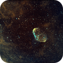 Crescent Nebula in HaS2O3,                                Beppe78