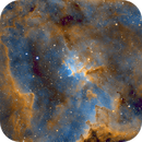 Heart Nebula (IC1805),                                AstroBadger