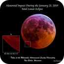 Meteoroid Impact During the January 2019 Lunar Eclipse,                                Paul Borchardt