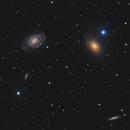 NGC 5363 & NGC 5364 in Virgo,                                Barry Wilson
