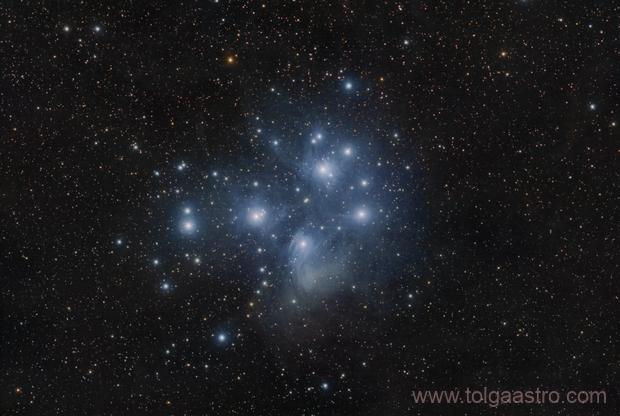 Pleiades ASI071 beta test,                                Tolga