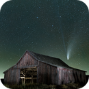 Comet NEOWISE over the Abandoned Barn,                                William R. Dodd