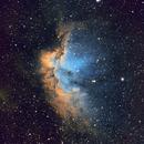 Wizard Nebula (NGC 7380) in SHO,                                Ryan