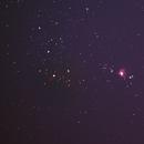 Orion ,  Horse Head & flame Nebulae,                                George