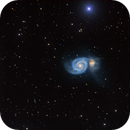 M51 Whirlpool under the star,                                marsbymars