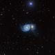 M51 Whirlpool under the star,                                marsbymars