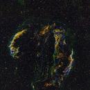 Cygnus Loop Supernova Remnant - Hubble Palette,                                Richard S. Wright...
