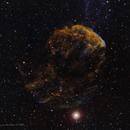 IC 443, Jelly Fish Nebula,                                Berry