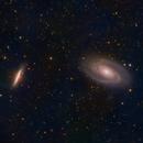 M81 & M82 - BODE'S GALAXY & THE CIGAR GALAXY,                                Jian Yuan Peng