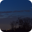 Jupiter, Mars and Saturn in the early morning,                                Wolfgang Zimmermann