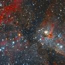 Carina nebula NGC 3372,                                kribba