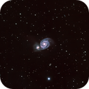 M51 Whirlpool Galaxy HaLRGB,                                Graham Roberts