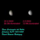 Venus brightness evolution - Cerdanyola del Vallès,                                David Romero Rodríguez