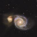 Messier 51,                                John Kulin