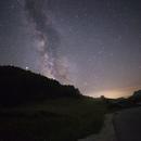 Milky way over Zabjelasnica,                                Alan Ćatović