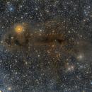 LBN558 nebula - LDN1251 & LDN1250 Dark nebula (LRGB),                                Marco Stra