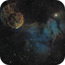 IC 443 (Sh2-248) / IC 444 (Sh2-249)  Jellyfish Nebula   2-Panel Mosaic.,                                Iñigo Gamarra