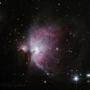 M42 - Great Orion Nebula,                                Chris4Sound