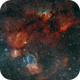 Lobster Claw -  Cave - Bubble Nebula in SHO,                                Roland Schliessus