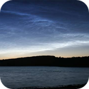 Noctilucent clouds at Fewston,                                Tony Cook