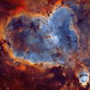 IC 1805 - Heart Nebula,                                Yannick Akar