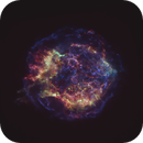 "Cassiopeia ""A"" Supernova Remnants (Via Chandra Xray Observatory/NASA),                                Jim Matzger"