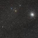 M22 & NGC 6642,                                M. Levens