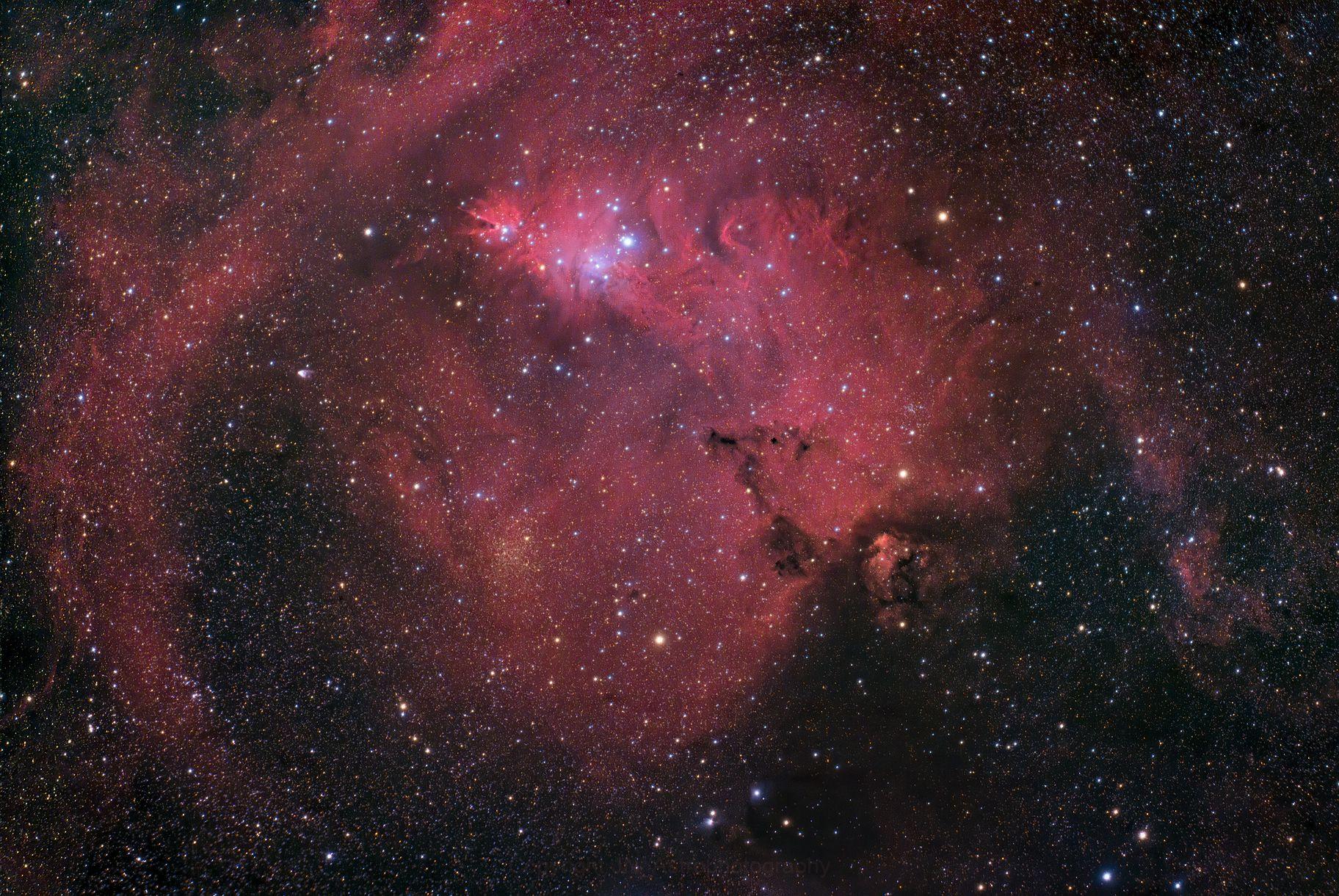 Cone Nebula,                                Johannes Bock