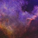 NGC7000 CROP,                                Stéphan & Fils