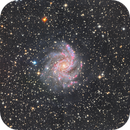 ngc 6946 Fireworks galaxy,                                Chassaigne