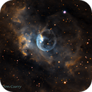 The Bubble Nebula,                                Don Curry