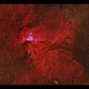 NGC6188 - emission nebula in Ara,                                Göran Nilsson