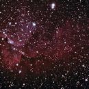 Updated NGC7380 Wizard over the Badlands,                                SoDakAstronomyNut