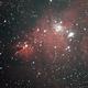 NGC 2264 (Christmas Tree and Cone Nebula),                                Chris W