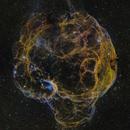 Sh2-240 (Simeis 147) Supernova Remnant - SHO,                                Jerry Macon