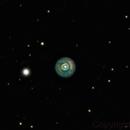 NGC 2392, the Eskimo Nebula,                                Niels V. Christensen