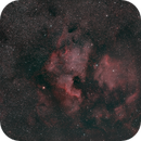 NGC7000 - wide field,                                Martin Dufour