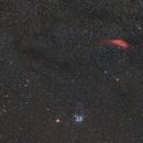 Mars, Pleiades and California nebula,                                Didier Walliang