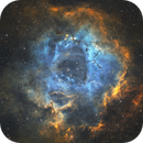 Rosette Nebula SHO,                                Jamie